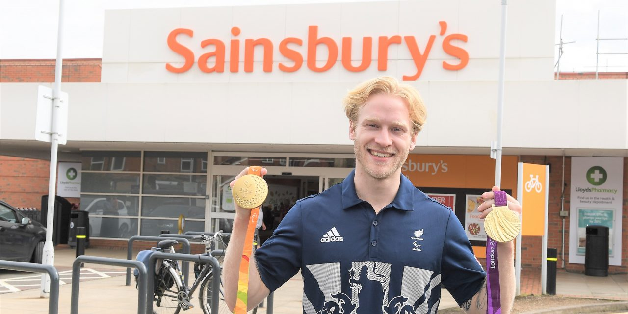 Jonnie Peacock and Sainsbury's gear up for Paralympics