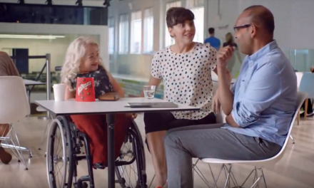 Iconic Ads with Disabled Actors