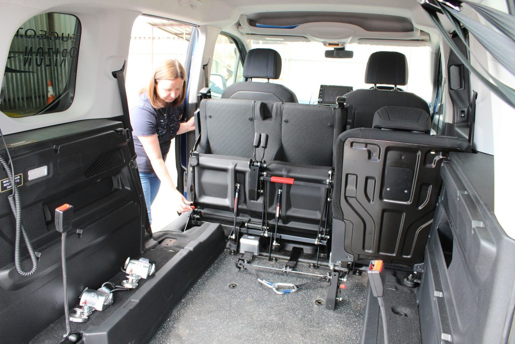 Allied Mobility seat design