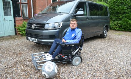 Powerchair football – in the driver's seat