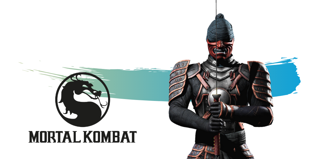 Kenshi from the video game Mortal Kombat