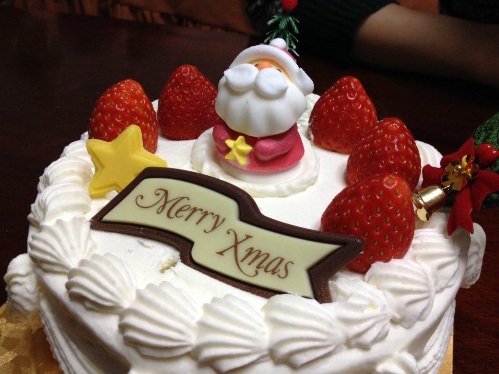 Christmas food - Japanese Christmas Cake
