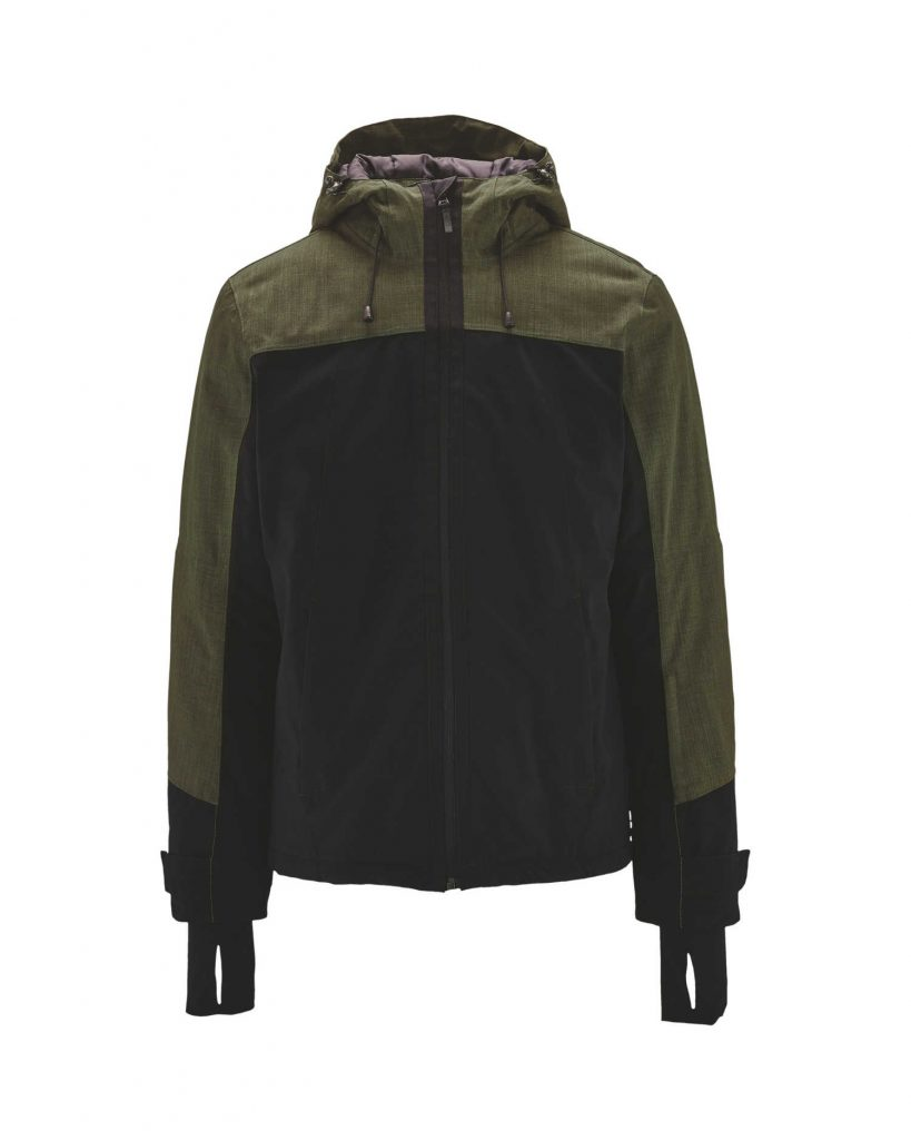 Ski and snowboarding jackets are great for keeping warm in the winter