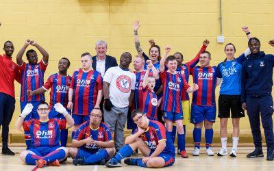 Roy Hodgson surprises Down's syndrome Eagles team
