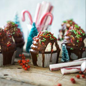 Christmas bakes - cupcakes