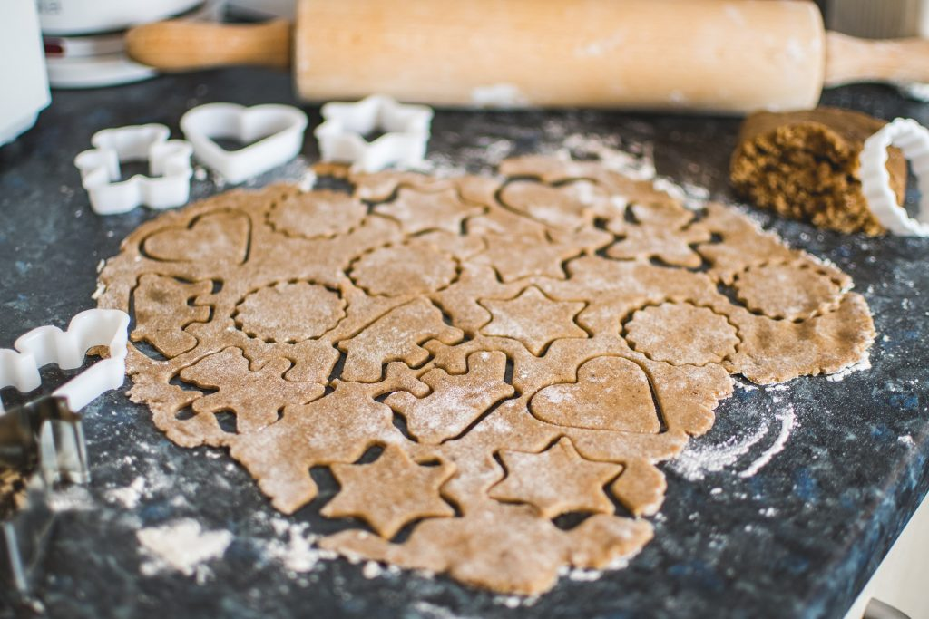 Christmas bakes - biscuits