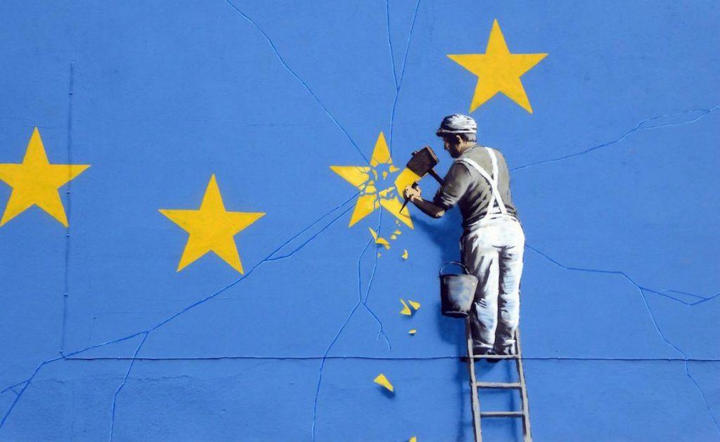 Banksy wades in on Brexit