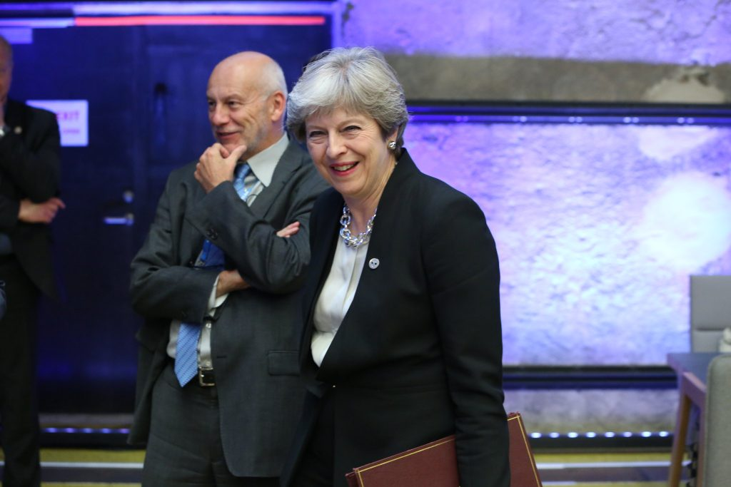 Theresa May did not manage to do much with Brexit in 2019