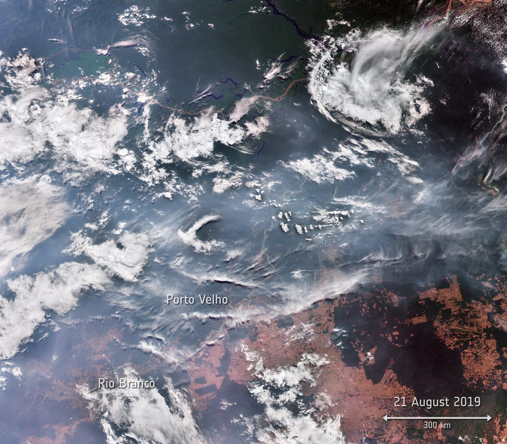 The Amazon is still burning now, months later