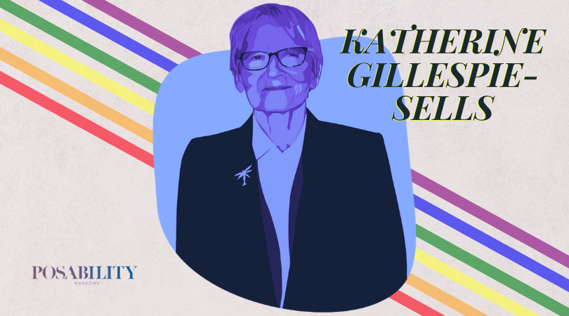 LGBTQ+ disabled person Kathrine Gillespie-Sells