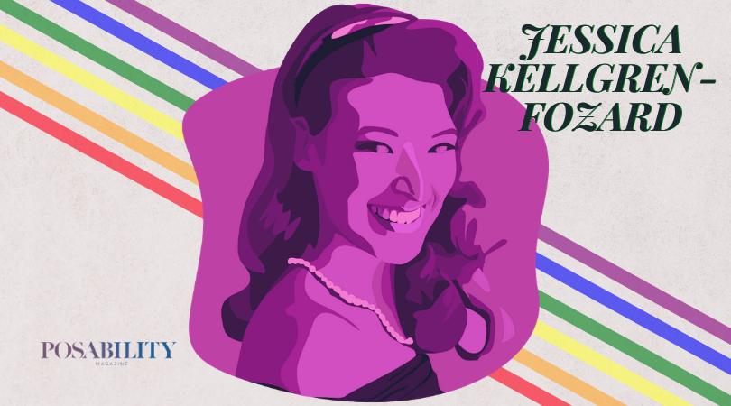 LGBTQ+ person Jessica Kellgren-Fozard
