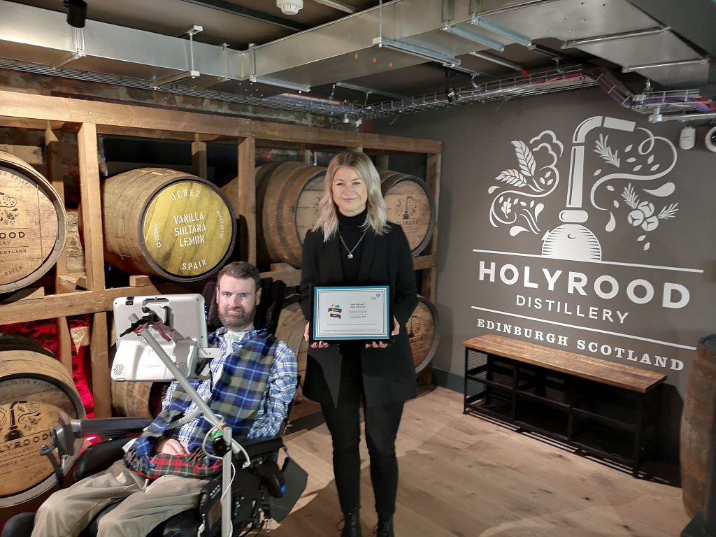 Holyrood Distillery - accessible venues