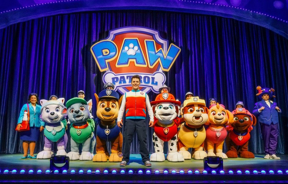 PAW Patrol are on a roll!