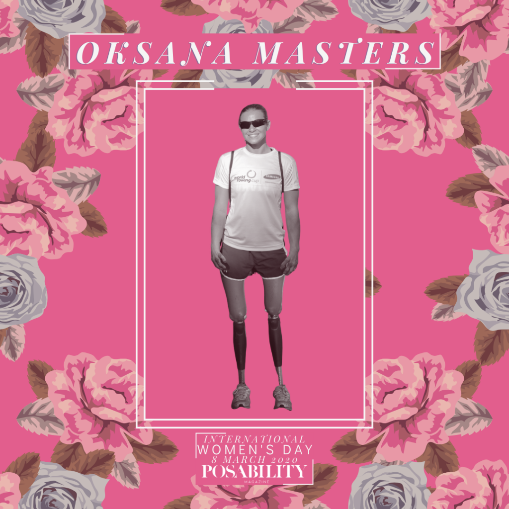 Oksana Masters International Women's Day