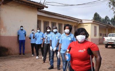 Charity CBM tackling COVID-19 internationally