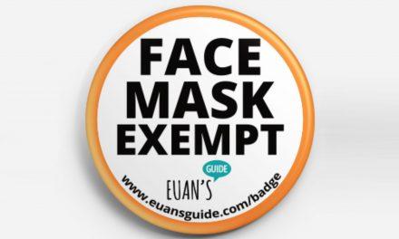 Euan's Guide offer free 'Face Mask Exempt' badges