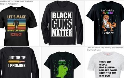 Call for Amazon to ban discriminatory t-shirts