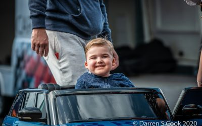 Team BRIT gift car to 5-year-old boy