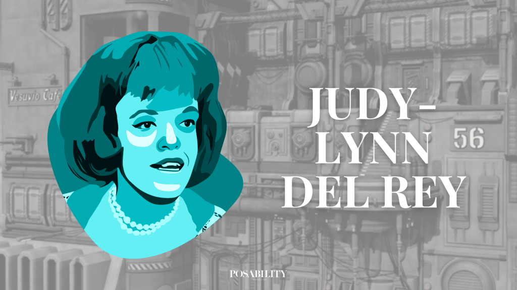 Judy-Lynn del Rey lived with restricted growth