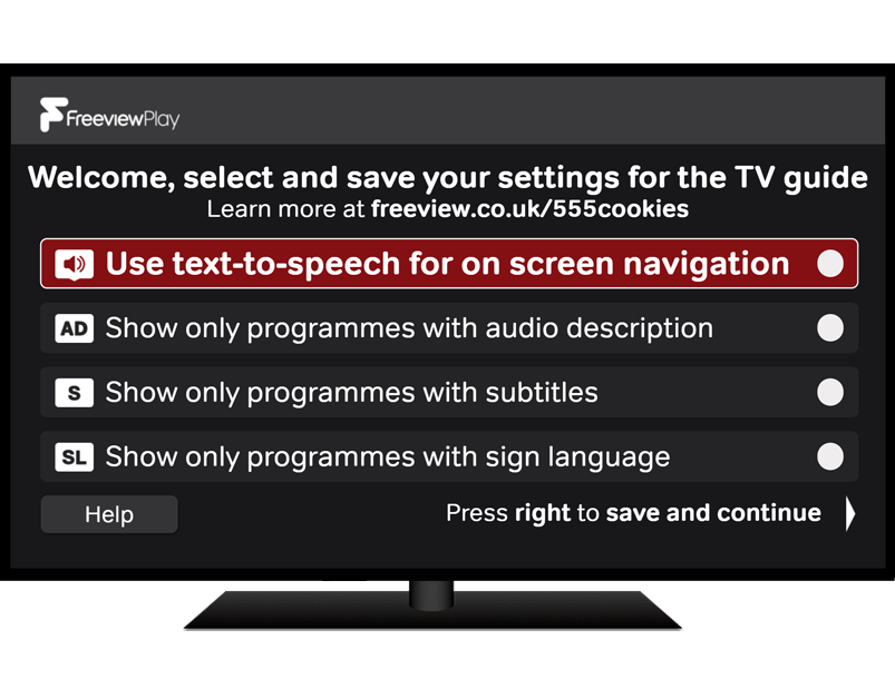 Accessible TV Guide