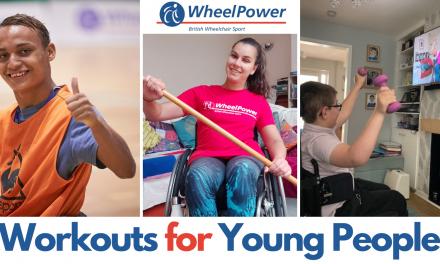 WheelPower keeping kids fit