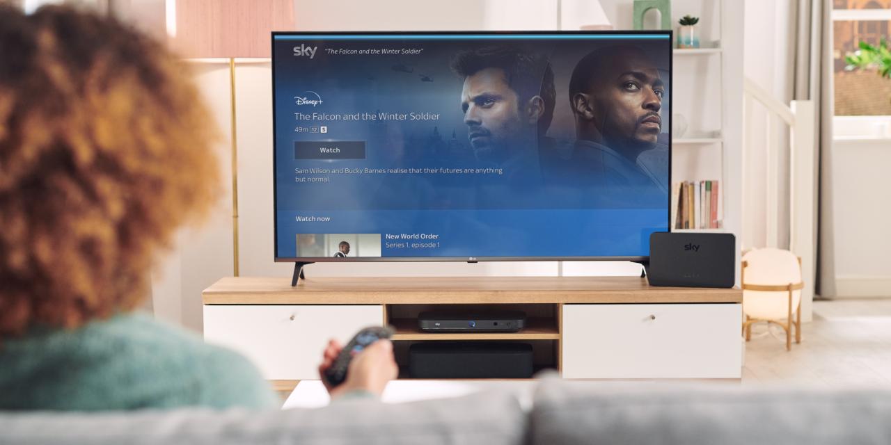 Sky Q introduce voice guidance