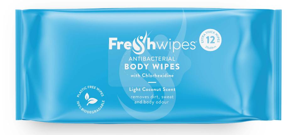 FreshWipes transform hygiene routine