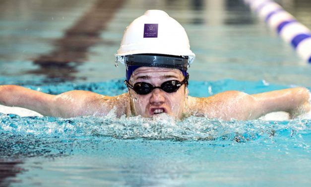 Paralympic swimmer Andrew Mullen prepares for Tokyo 2020