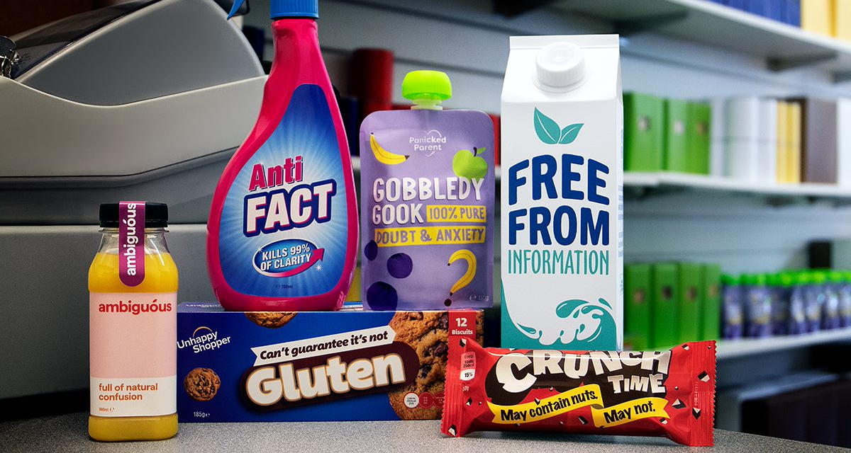 RNIB launches pop-up to highlight inequality in packaging